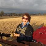 Ruth, joy after flight