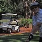 ruth golfing