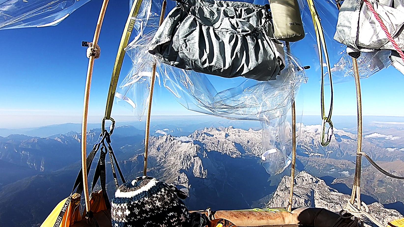 Flying 'Bernadette' Over Dolomites Italy 2018